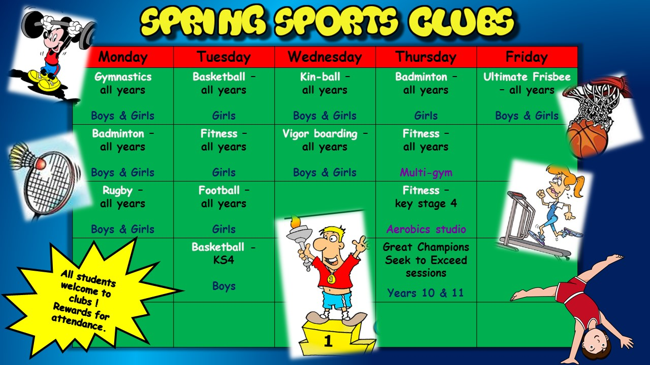 Spring Sports Clubs